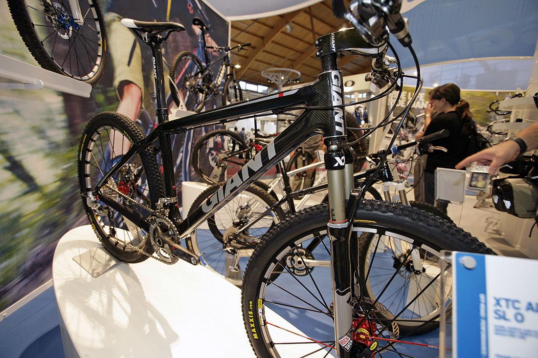 Giant 2010 na Eurobike 2009