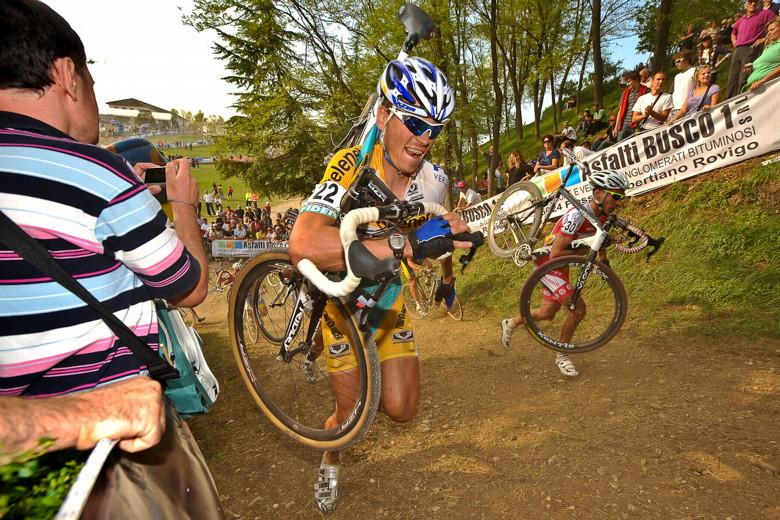 Světový pohár v cyklokrosu - 1. závod 3.10. 2009, Treviso/Itálie - Petr Dlask foto: Armin Küstenbrück