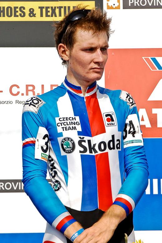 Světový pohár v cyklokrosu - 1. závod 3.10. 2009 - Lubomír Petruš, Treviso/Itálie, foto: Armin Küstenbrück