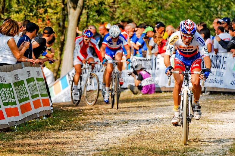 Světový pohár v cyklokrosu - 1. závod 3.10. 2009, Treviso/Itálie - Robert Gavenda, foto: Armin Küstenbrück