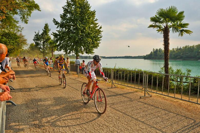 Světový pohár v cyklokrosu - 1. závod 3.10. 2009, Treviso/Itálie - Kamil Ausbuher, foto: Armin Küstenbrück