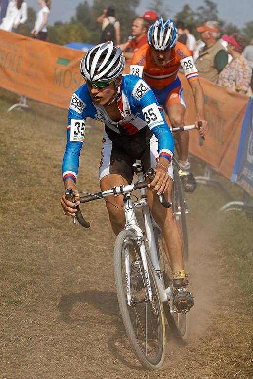 Světový pohár v cyklokrosu - 1. závod 3.10. 2009, Treviso/Itálie - Polnický, foto: Armin Küstenbrück