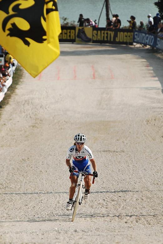 Světový pohár v cyklokrosu - 1. závod 3.10. 2009, Treviso/Itálie - Pavla Havlíková, foto: Armin Küstenbrück