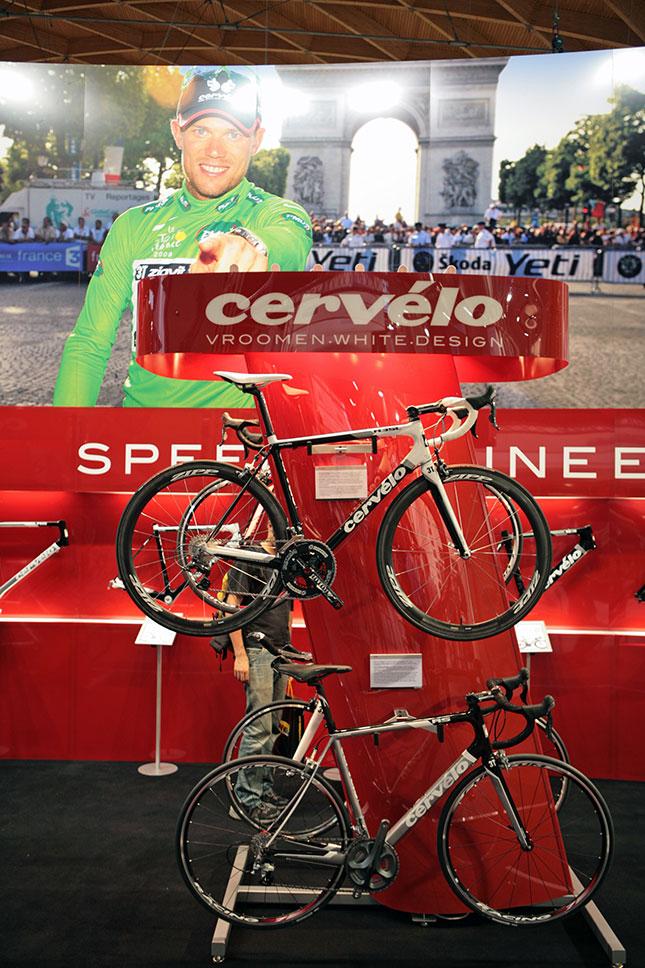 Cervelo 2010 na Eurobike 2009