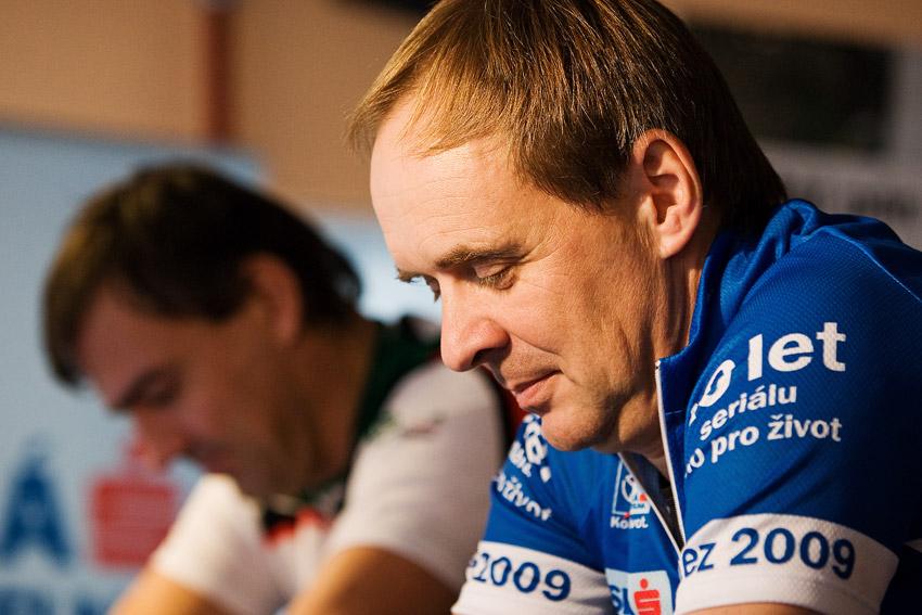 KPŽ Finálová jízda 2009 - Roman Čermák před startem
