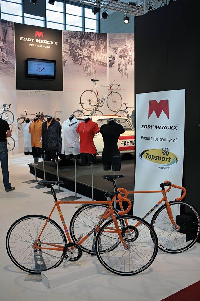 Eddy Merckx 2010 na Eurobike 2009