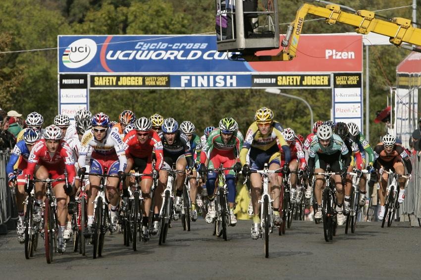 Světový pohár v cyklokrosu #2, Plzeň 18.10.2009 - start