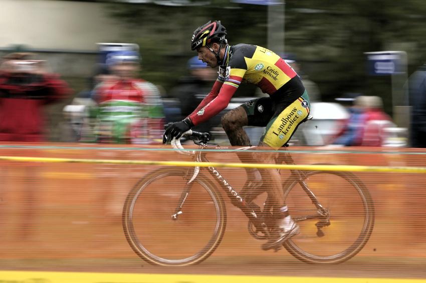 Světový pohár v cyklokrosu #2, Plzeň 18.10.2009 - Sven Nijs