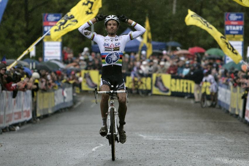 Světový pohár v cyklokrosu #2, Plzeň 18.10.2009 - Niels Albert znovu vítězí