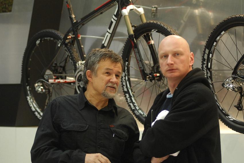 Bike Brno '09 - Faces: Svatopluk Zatloukal a Dlouhán