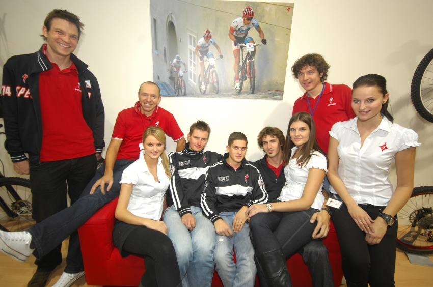 Bike Brno '09 - Faces: Specialized Crew