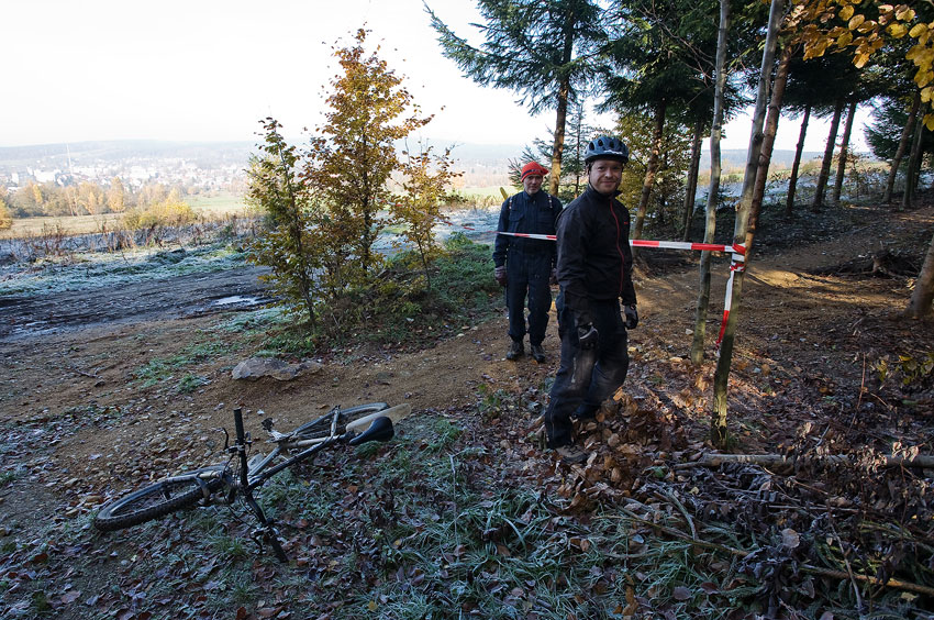 ČeMBA Singltrek pod Smrkem 2009 - úsek trailu po kontrole stavu bude zpřístupněn