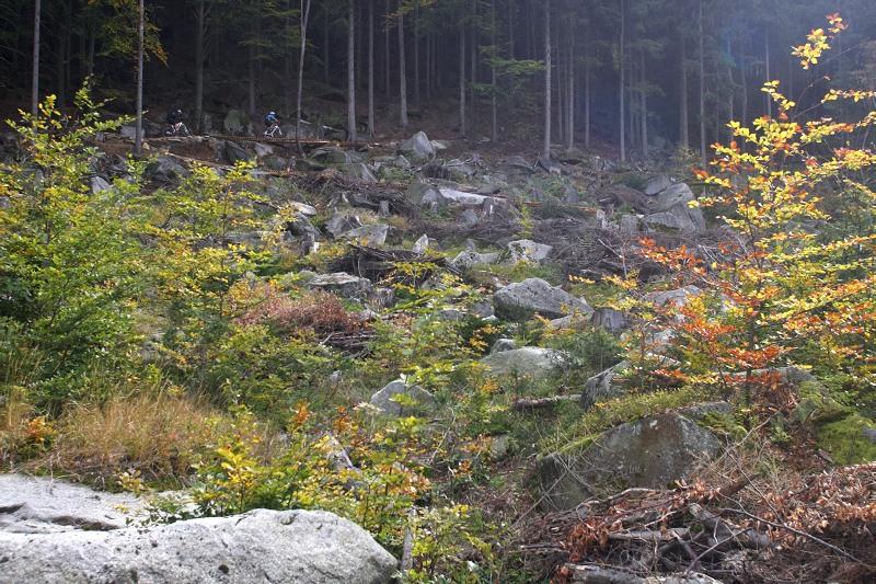 Rychlebské stezky, říjen 2009