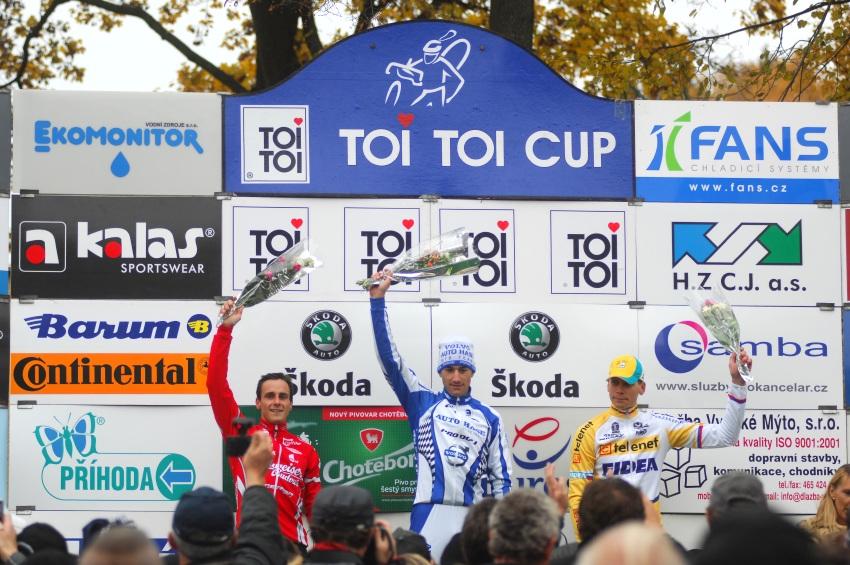 Toi Toi Cup, 28.10.2009, Hlinsko - 1. Zlámalík, 2. Bína, 3. Dlask