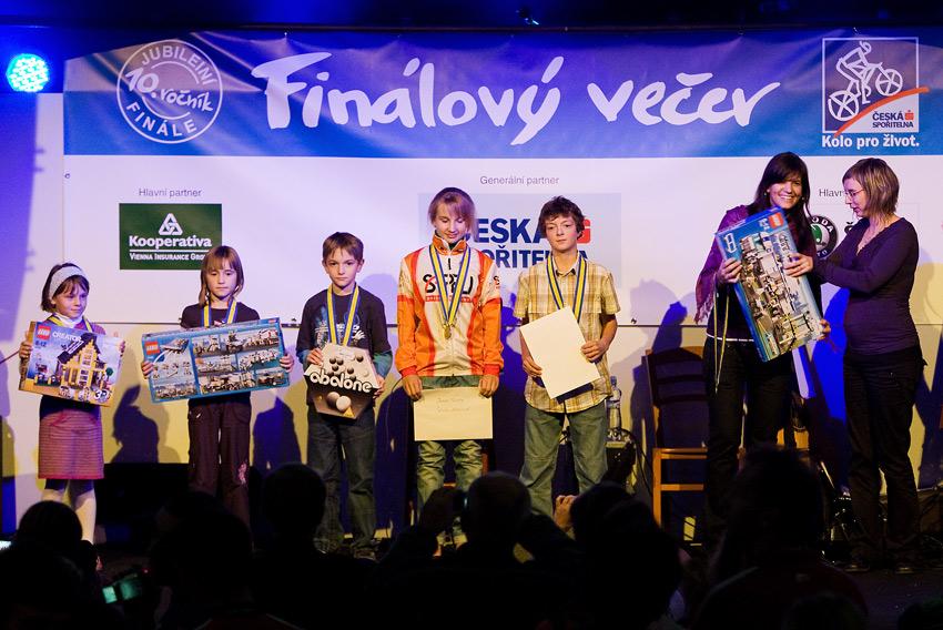 KPŽ Finálový večer 2009 - první přišly na řadu při vyhlašování děti
