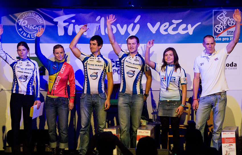 KPŽ Finálový večer 2009 - nejlepší ženy a muži v absolutním pořadí