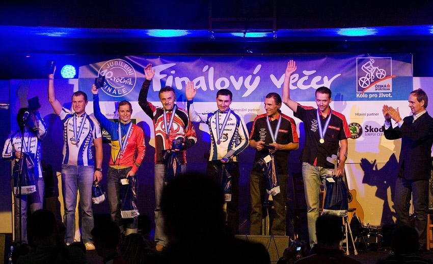KP� Fin�lov� ve�er 2009 - druz� v celkov�m po�ad� Prestige Trophy Marathon