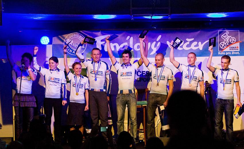 KPŽ Finálový večer 2009 - a vítězové dlouhých tras Kola pro život - Prestige Trophy Marathon
