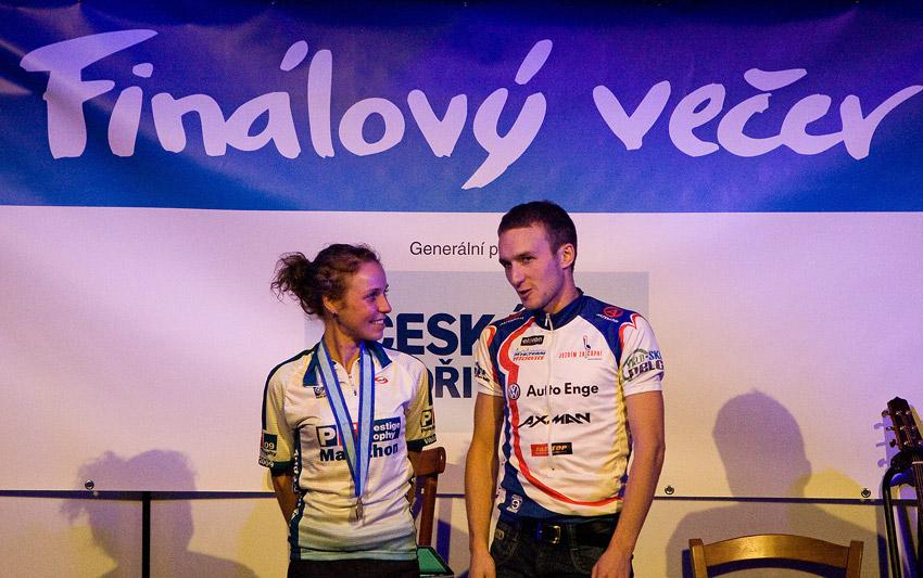 KPŽ Finálový večer 2009 - sourozenci Pavlína a Honza Černý zvítězili ve svých kategoriích v Prestige Trophy Marathonu