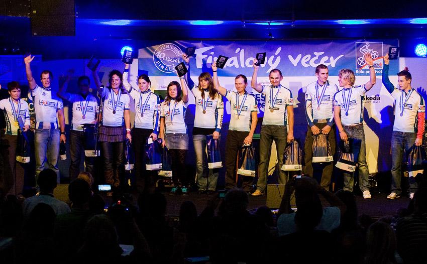 KPŽ Finálový večer 2009 - vítězové v Prestige Trophy 1/2 Marathonu