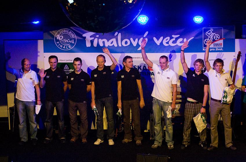 KPŽ Finálový večer 2009 - druhý nejlepší tým Alpine Pro - Author MTB