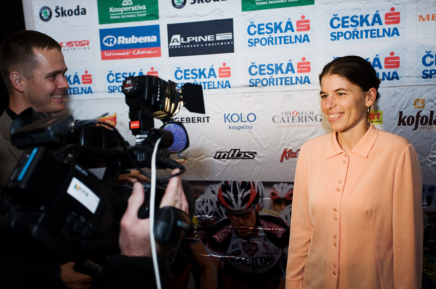 KPŽ Finálový večer 2009 - rozhovory nejlepších pro televizi... (Petra Kottová)