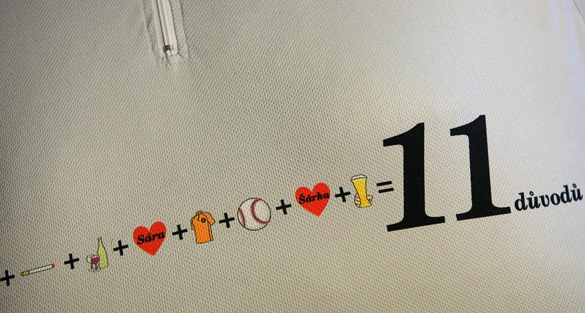 Eleven 2009 - zakázková výroba dresů:11...