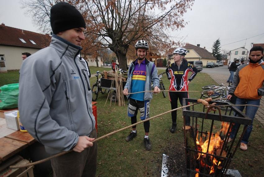 Winter Trans Brdy 2009 - Ani Honza Škatnitzl neodolal ...