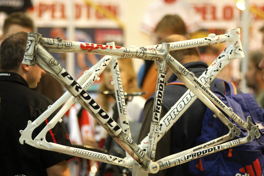 Bike Brno 2009: novin��sk� r�m pro redaktora den�ku Sport