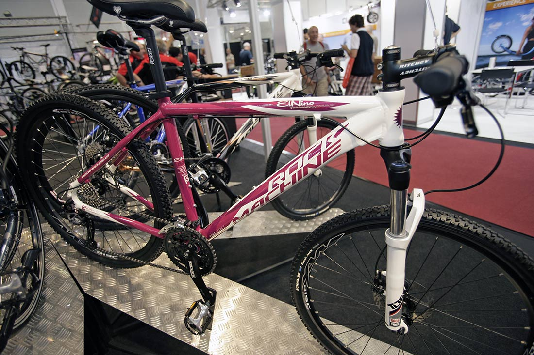 Rock Machine 2010 na Eurobike 2009