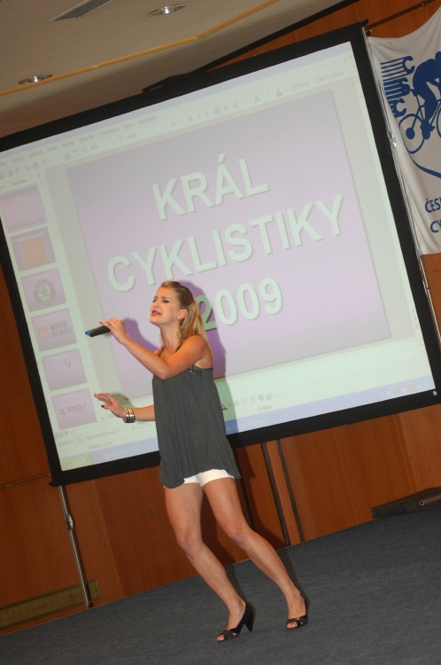 "Král cyklistiky 2009 - ""suprstár"" Šárka Vaňková"