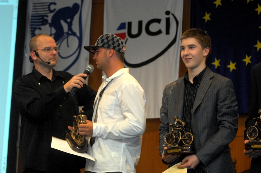 Král cyklistiky 2009 - z bikerů byli oceněni Michal Prokop, Jakub Říha a Tomáš Slavík