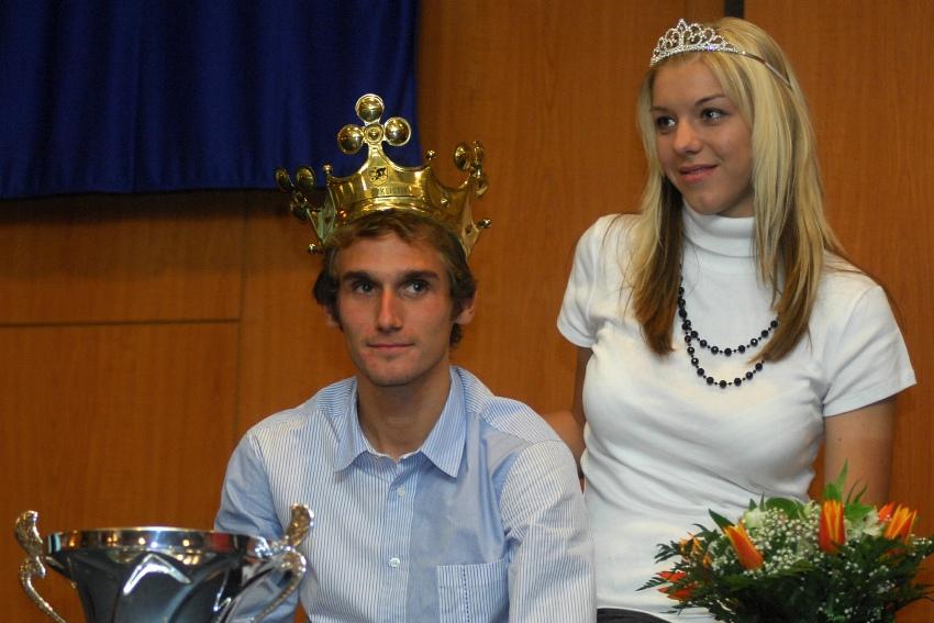 Král cyklistiky 2009 - Roman Kreuziger a Lucie Záleská