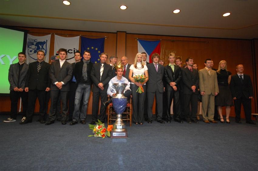 Král cyklistiky 2009 - všichni ocenění medailisté