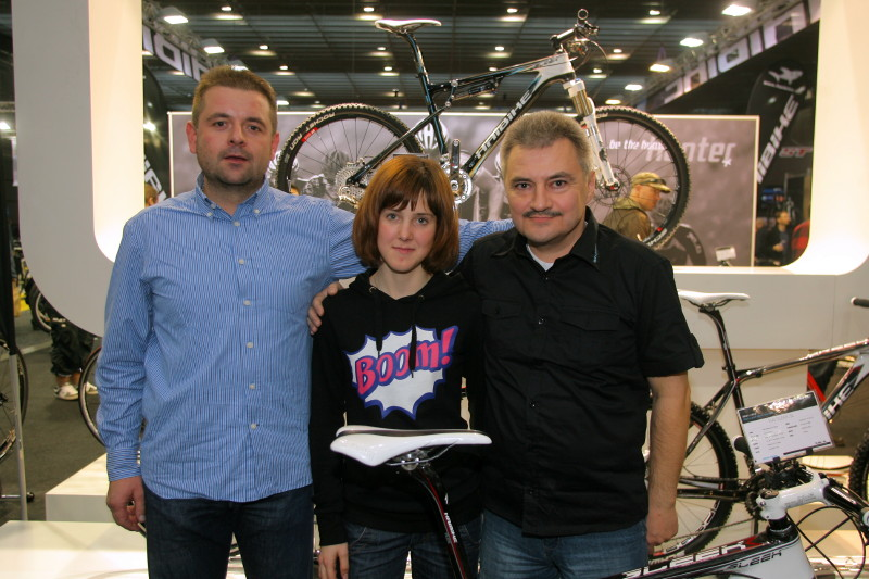 Bike Brno 2009 - nad�jn� kadetka Mark�ta Drahovzalov� p�esedl� na Haibike
