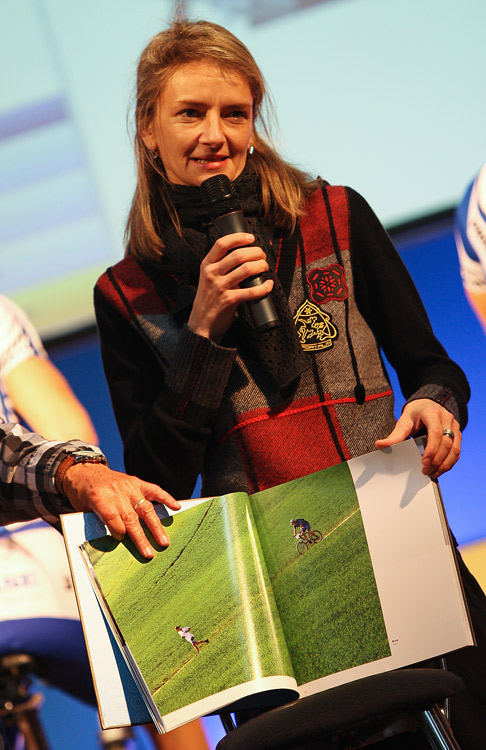 Bike Brno 2009 - Markéta Navrátilová se svou novou knihou KoLove