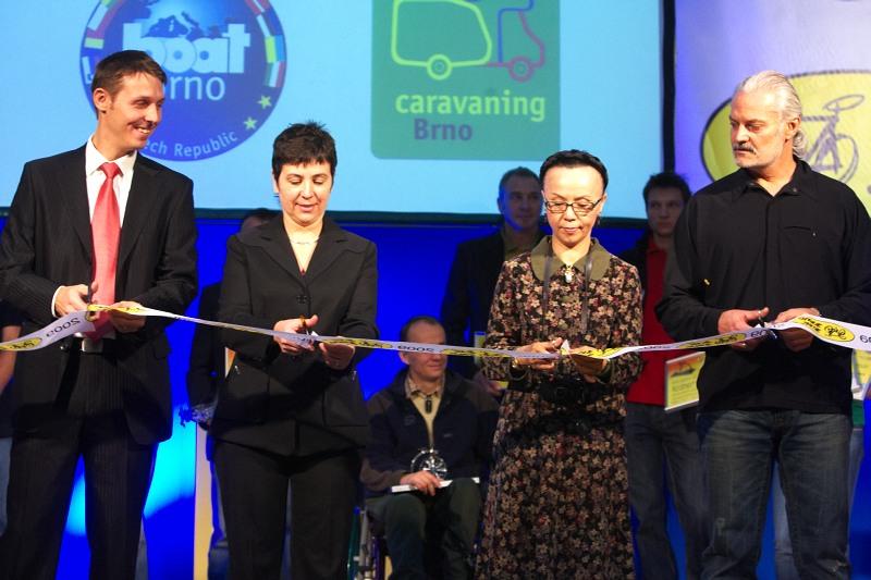 Bike Brno 2009 - slavnostní zahájení