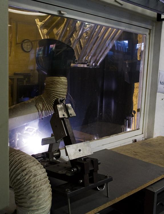 Nicolai 2009 - návštěva výroby - svařovna