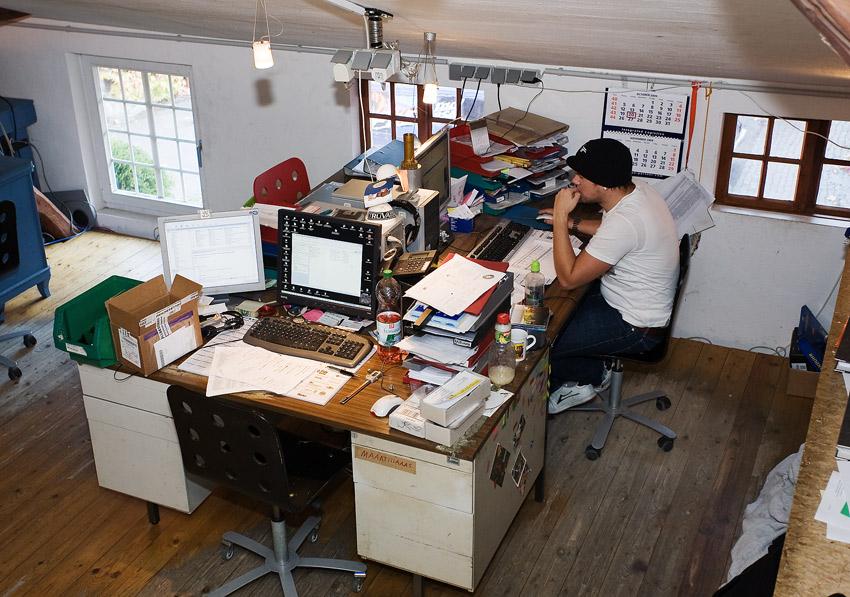 Nicolai 2009 - návštěva výroby - konstrukční oddělení