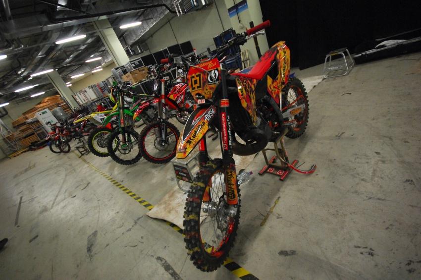 FMX Gladiator Games 2009, Praha: depo
