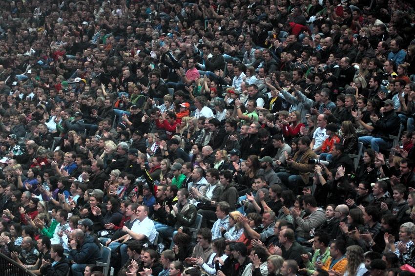 FMX Gladiator Games 2009, Praha: vyprodáno