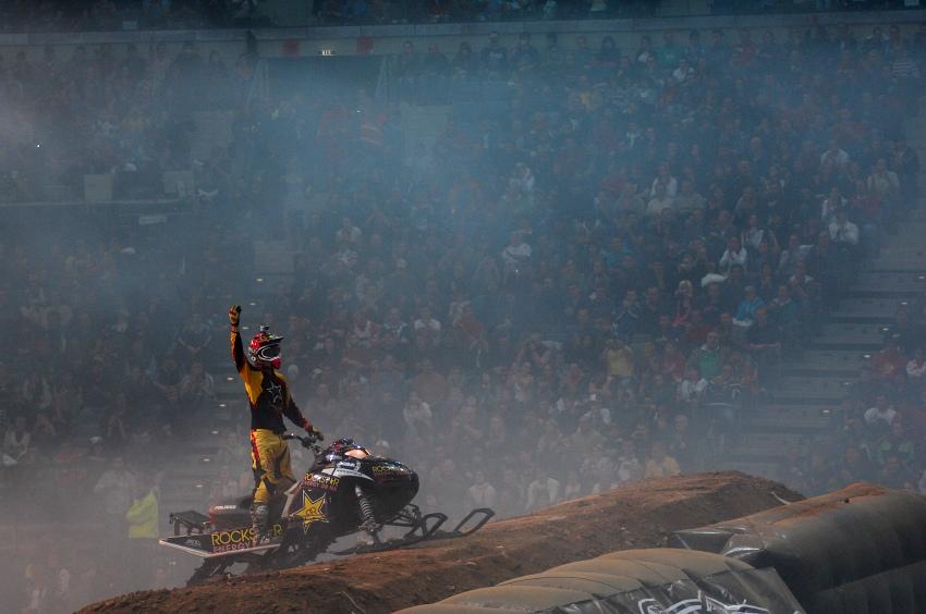 FMX Gladiator Games 2009, Praha: Justin Hoyer