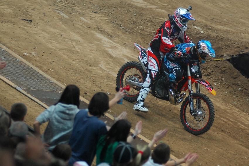 FMX Gladiator Games 2009, Praha: Petr Pilát a Pavel Bém