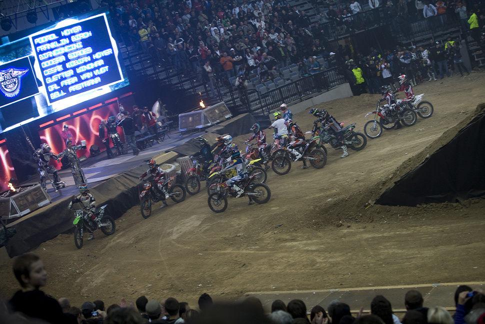 MTV FMX Gladiator Games 2009 závěrečná rozlučka po vláčku