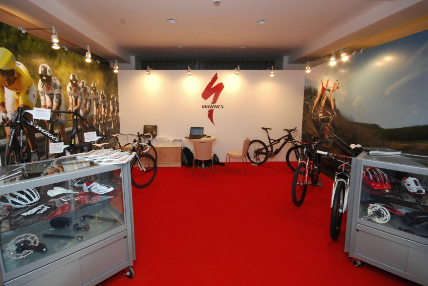 MMotion 2009: expozice Specialized