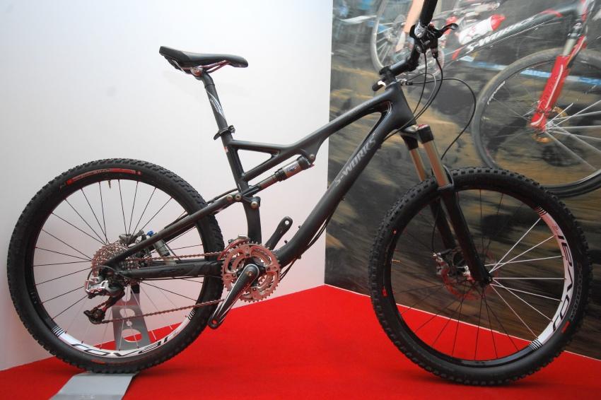 MMotion 2009: nejdražší bike Specialized Stumpjumper FSR S-Works za 187.990 Kč