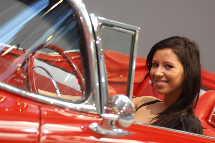 MMotion 2009: slečna řidička