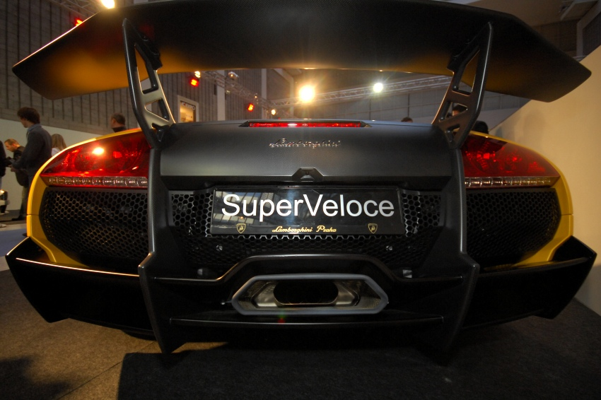 MMotion 2009: Lamborghini Murcielago LP670-4 SuperVeloce (cca 8 mil. K�)