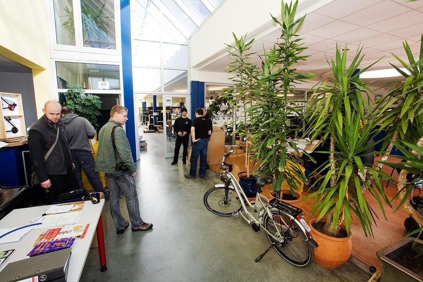 Rohloff 2009 - vstupní prostor