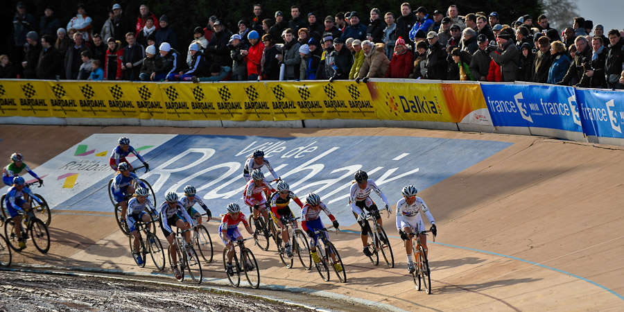 Světový pohár v cyklokrosu, Roubaix /FRA/, 17.1.2010: Triumf Kateřiny Nash a Zdeňka Štybara (foto: Armin M. Küstenbrück)